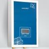 宝石蓝盛唐纹图案玻璃面板即热式电热水器