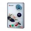 香榭丽系列…K528H荷塘瓷 即热式触摸恒温变频机*负离子*畅销机