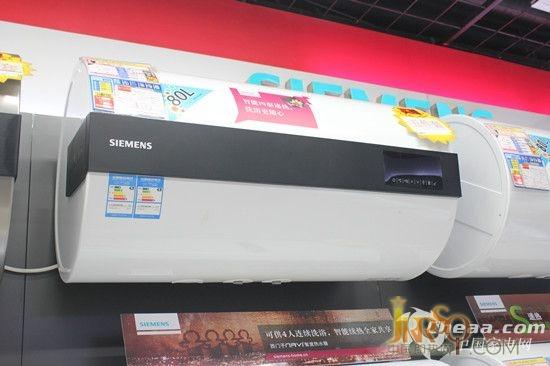 西门子DG80575BTI电热水器侧面展示
