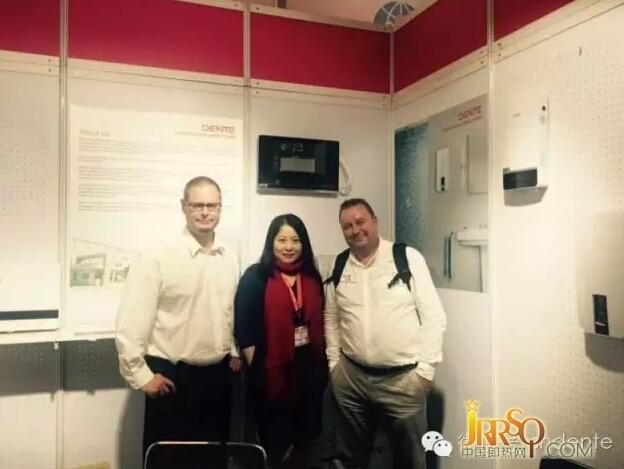 德恩特热水器参加德国消费电子展