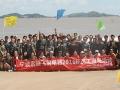 飞羽海边拓展 凝聚团队力量 (9)