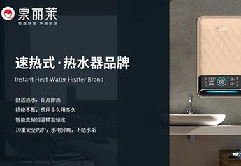泉丽莱AI语音速热式电热水器